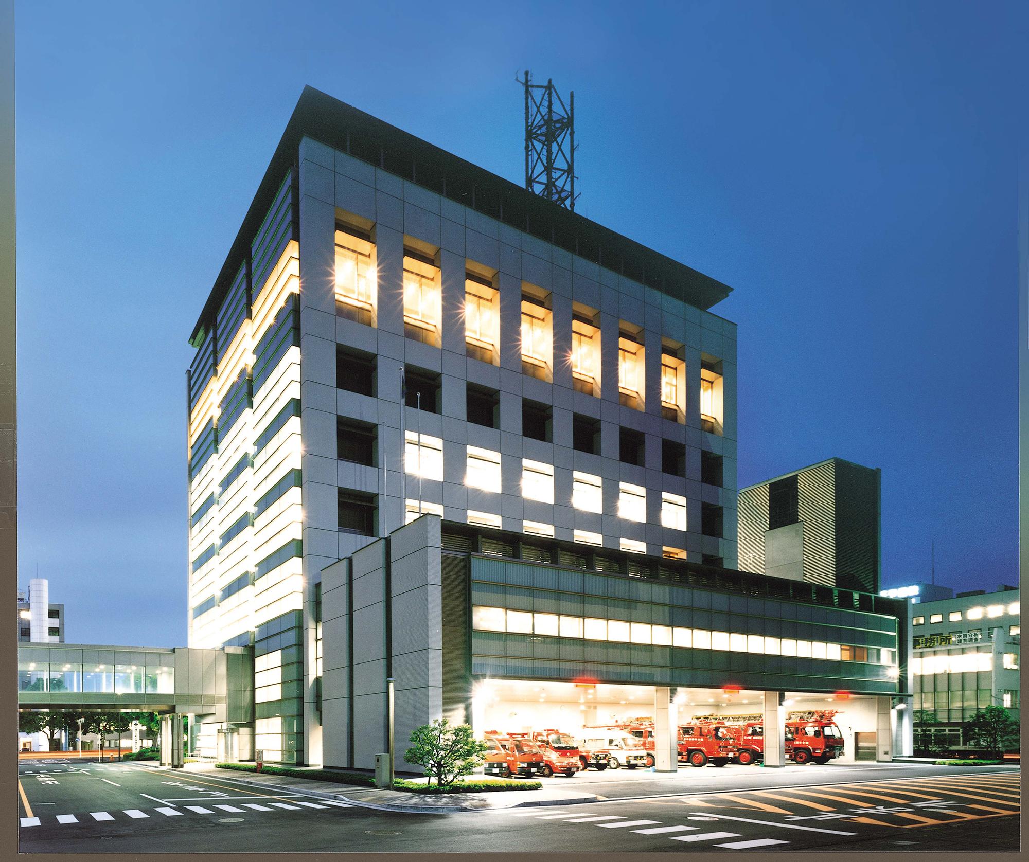 富士市消防庁舎