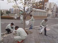 富士駅周辺清掃活動