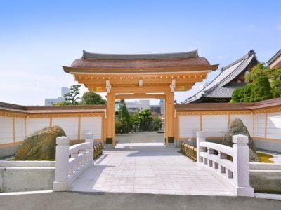 妙祥寺 山門