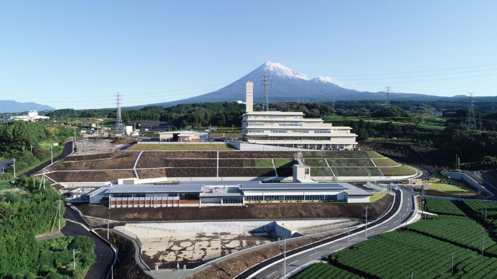 富士市新環境クリーンセンター全景写真